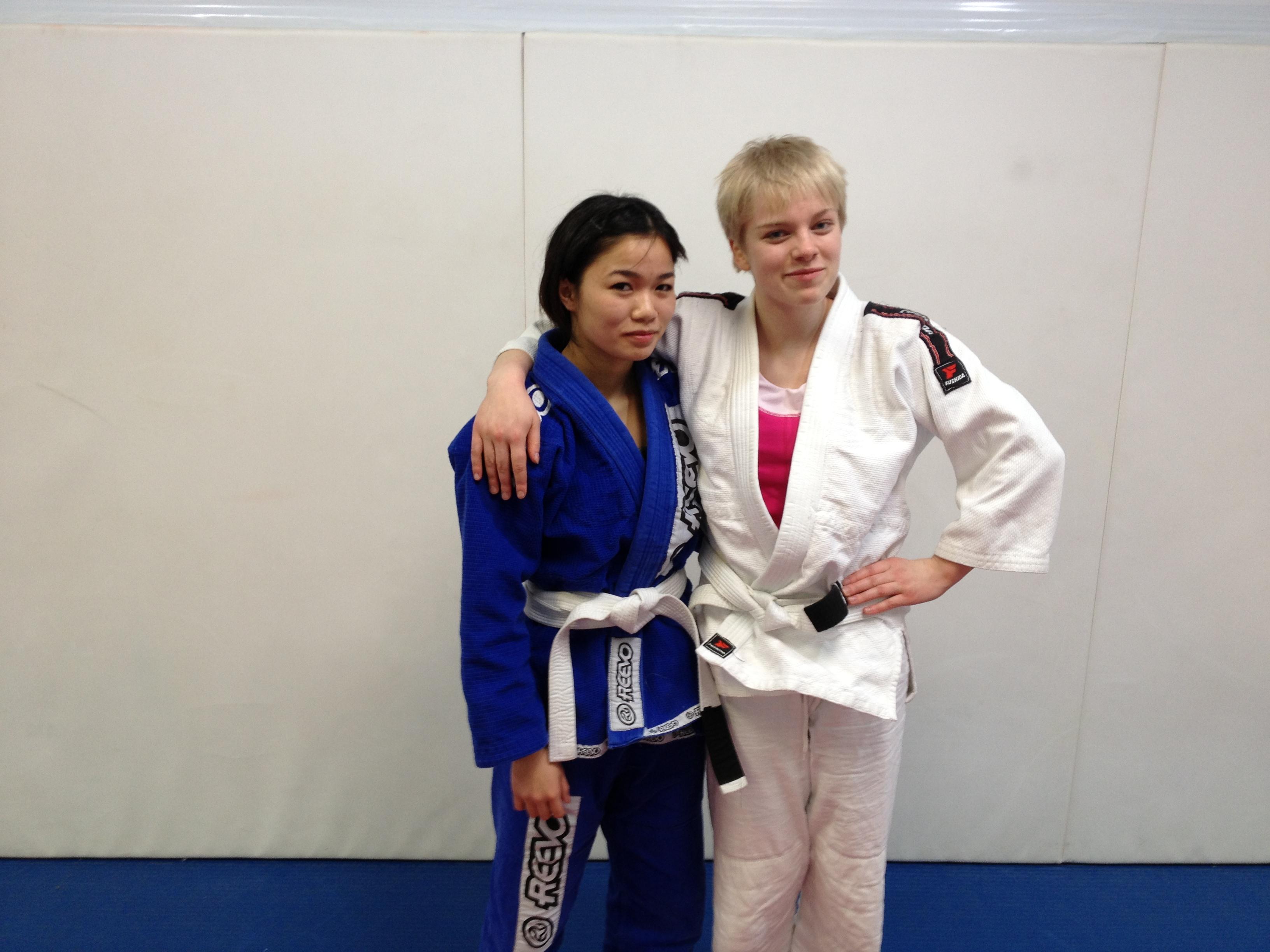 sexy jiu jitsu women